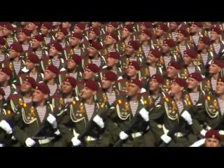 Вот они, мои родные краповые береты! ОДОН ВВ МВД РФ им.Дзержинского! Парад 9 мая 2015 на Красной площади в Москве.