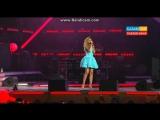 Анна Седокова - Сердце в бинтах (Дискотека МУЗ ТВ в Астане) 04.06.2015