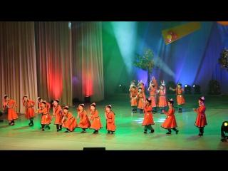 Монгольский танец отчетный концерт детской студии театра