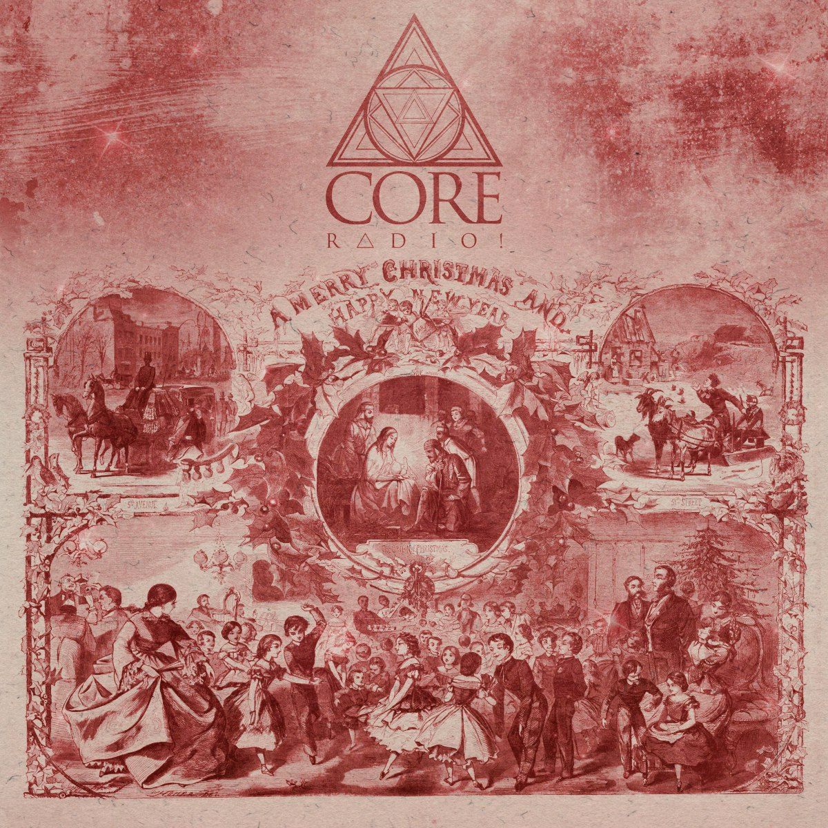 CORE RADIO! - Christmas Compilation 1.0 (2015)