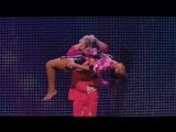 Шайтан на шоу британских талантов - Stevie Pink master illusionist takes to the stage