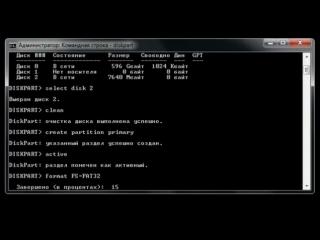 Создание установочной (загрузочной) флешки Windows 7