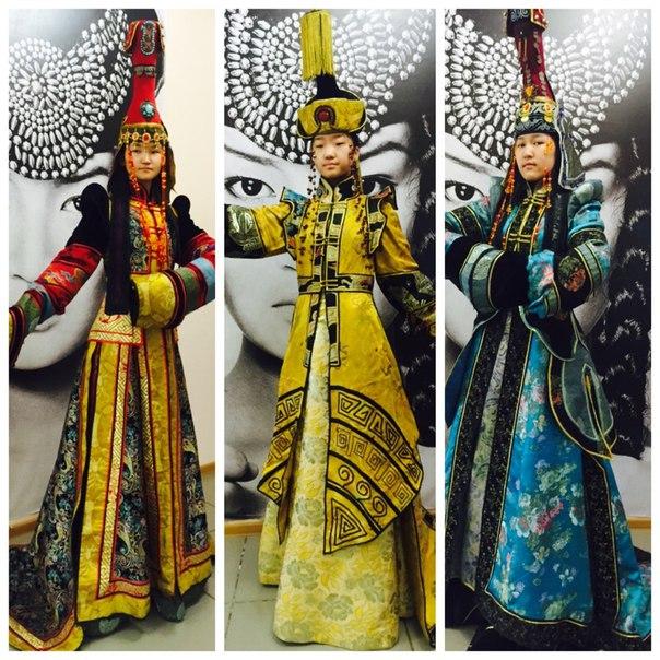 Национальное тувинское платье фото