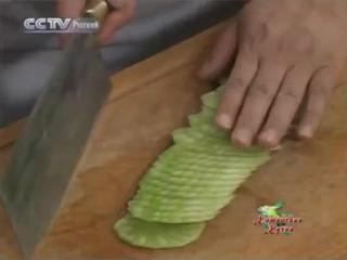 16. Китайская Кухня - Салат латук с перечным маслом