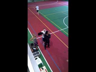 Рой Джонс открытая тренировка в СКК Мрия
