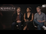 Tye Sheridan, Ben Hardy & Alexandra Shipp Exclusive Interview