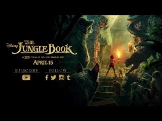 Полноценный трейлер Книга джунглей