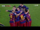 Барселона 2 - 1  Эспаньол | Супер гол в исполнении Месси 06.01.2016