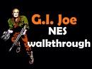 Бросок кобры прохождение, G.I. Joe walkthrough NES,Dendy 043
