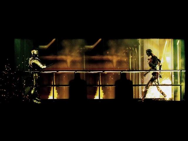 Это не версут термика с робокопом и хищником просто действие всех боевиков 80-х происходит в одной вселенной