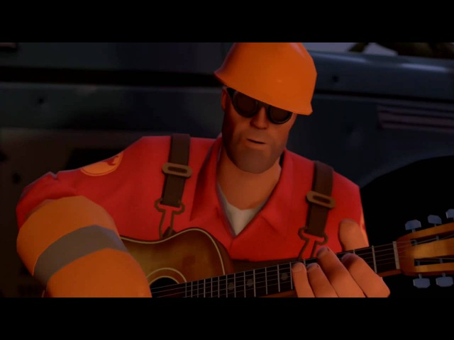 Team Fortress 2: Meet the Engineer (Russian)