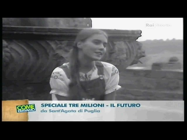 Romina Power in ''Que serà,serà''(1971) a Speciale tre milioni.