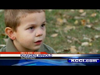 4-Year-Old Des Moines Boy Saves Mom