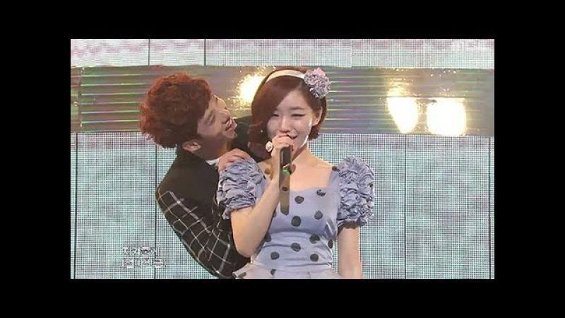 Jo Kwon Gain - We fell in love, 조권 가인 - 우리 사랑하게 됐어요, Music Core 20100