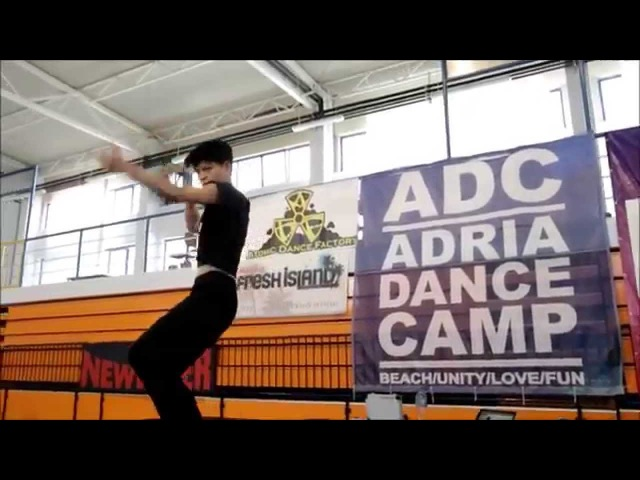 Koharu Sugawara Sia feat. The Weeknd- Elastic Heart Adria Dance Camp 2014'