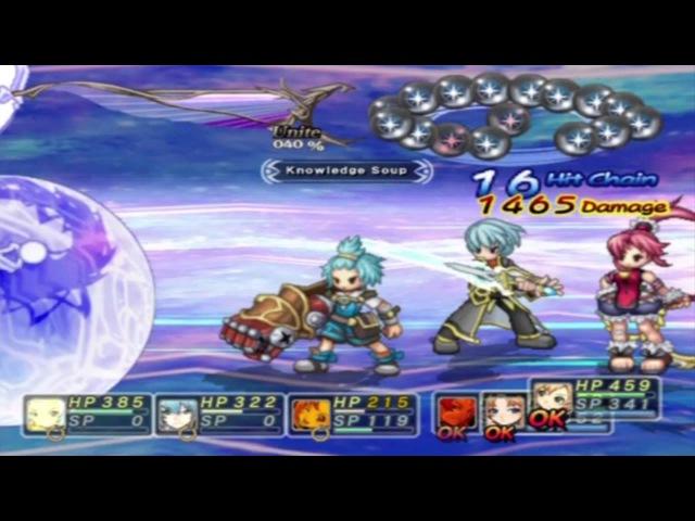 Mana Khemia 2 - Final Boss - Light Mana Ending