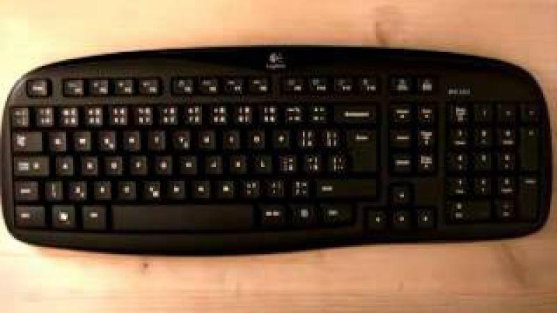 Горячие клавиши. Часть 1