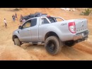 Glass House Mountains 4x4 Ford Ranger PX snaps front drive shaft