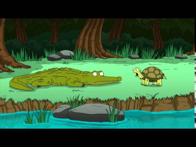 Гриффины Черепашка с клаустрофобией