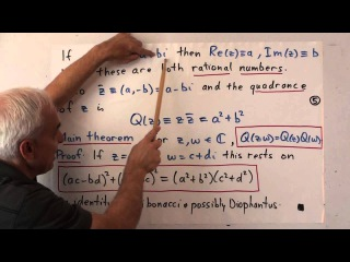FamousMathProbs 13a: The rotation problem and Hamilton's discovery of quaternions I