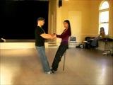 Tango Lesson Colgada Basics with Miguel Calo