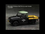 Mercedes G klasse Wolf Pick Up Jack Daniels 1 43 MBK 1