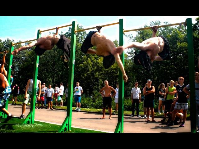 Moscow Лужники (3run, Gimbarr, Workout, Дворовый спорт)