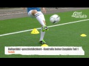 Fussballtraining Hohe Zuspiele Teil 1 - Ballkontrolle - Technik