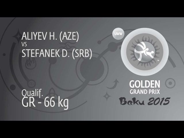 Qual. GR - 66 kg: H. ALIYEV (AZE) df. D. STEFANEK (SRB), 2-1