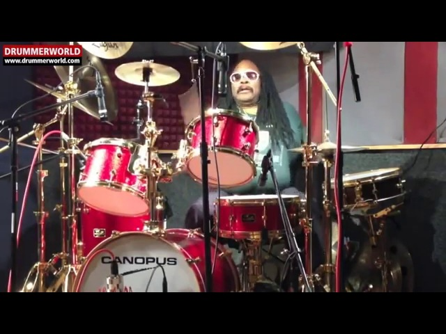 Alphonse Mouzon: Checking Out his Canopus Drums