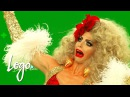 RuPaul's Drag Race: Green Screen Christmas Bloopers w/ Haus of Edwards, The Pit Crew, More | Logo