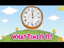 Telling Time Chant for Kids What Time Is It