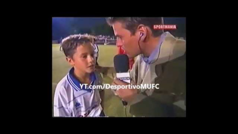 Ander Herrera First Interview (11 anos/years old)