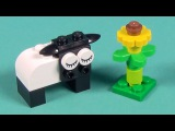 Lego Sheep Building Instructions - Lego Classic 10692 How To