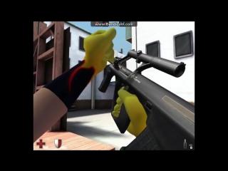 Контра Сити - Игра с автоматом