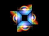RAINBOW hologram (видео для голографической 3D пирамиды) [3D Hologram Techonology Video for holographic pyramid]