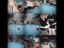 Yunho Playing Billiards with Hojoon Hyoje and Other Friends