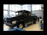 Люксовый пикап на базе грузовика ГАЗон NEXT. Краткий обзор