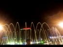 Цветной фонтан!!!Центральная площадь!!!Анапа 2015