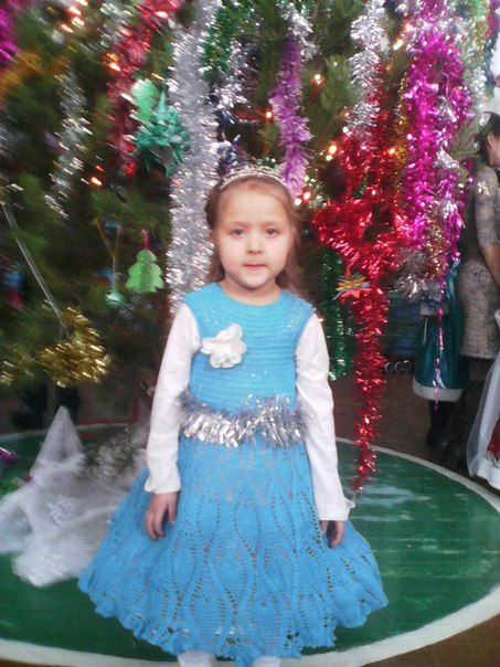 Платье для маленькой принцессы (1 фото) - картинка