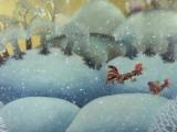 Мультик Падал прошлогодний снег (мультфильм для детей)