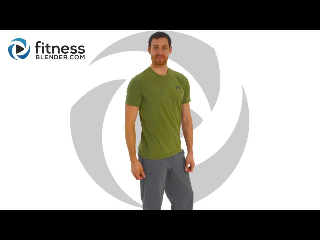 FitnessBlender - Total Body Warm Up Workout | Разминка