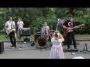 Черный квадрат исполняет песню группы Кино Спокойная ночь ВДНХ ВВЦ