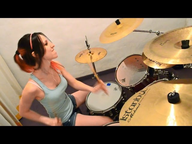 Cannibal Corpse Hammer smashed face Drum Cover (by Nea Batera)