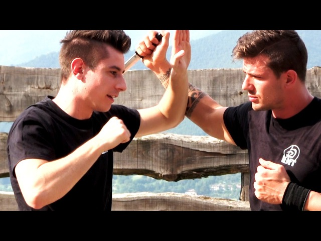 KRAV MAGA TRAINING How to survive a Knife attack part 1 of 4