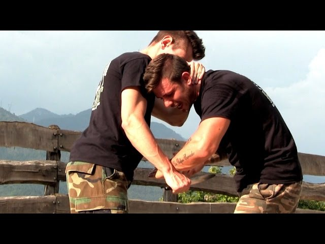 KRAV MAGA TRAINING How to survive a Knife attack part 2 of 4