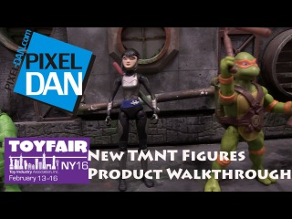 Teenage Mutant Ninja Turtles New Action Figures Walkthrough at Toy Fair 2016 - Human Karai and more!