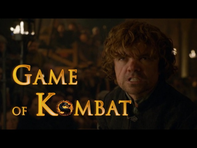 Game of Thrones - Tyrion's speech Mortal Kombat ending - Epic edit