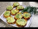 гренки с сыром и укропом - видео рецепт!