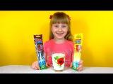 Magic Milk Straws Волшебные соломинки для молока с вкусом шоколада и ванили